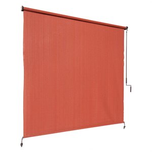 Terracotta Outdoor Roller Shade